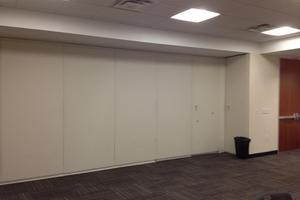Overall View - Folding Partition